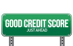 Good Credit Score Just Ahead