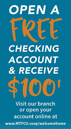Open Free Checking Account and Receive $100