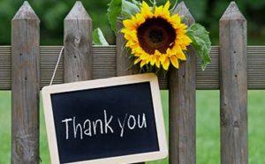 Member Appreciation Days Thank You!