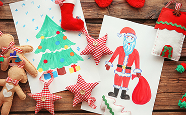 Kids Holiday Coloring Contest