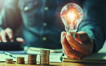 Debt Consolidation Light Bulb Moment
