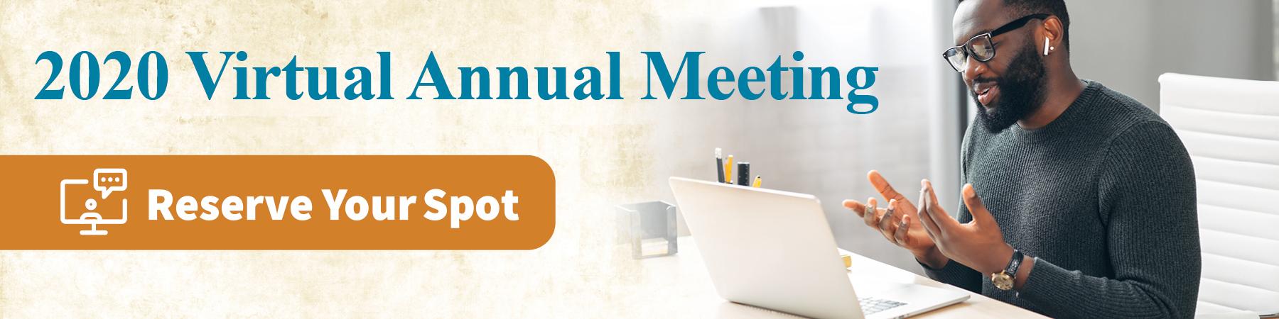 Annual Meeting 2020