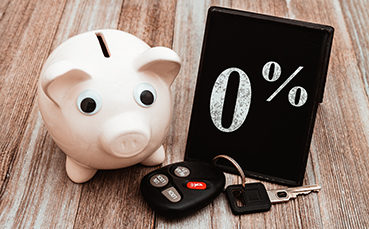 Piggy Bank with 0%